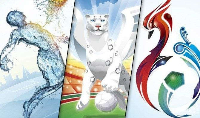 پوستر جام جهانی 2018 روسیه رونمایی شد