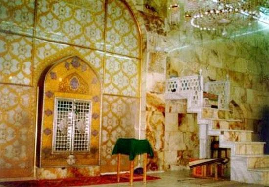 Photo of محل ضربت خوردن حضرت علی(ع) + عکس از محل