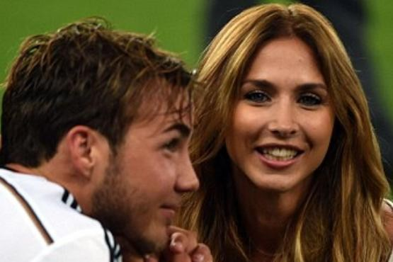 آن کاترین برومل همسر ماریو گوتزه زننده گل قهرمانی آلمان