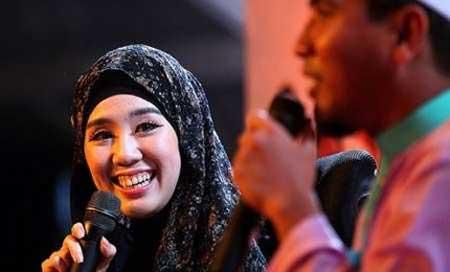 مانکن زیبای مالزیایی مسلمان شد +عکس