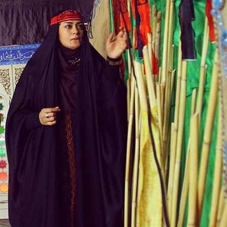 افطاری الهام چرخنده به زنان با حجاب