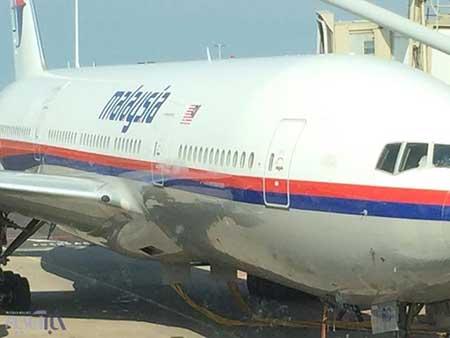 آخرین عکس هواپیمای مالزی سقوط کرده قبل از پرواز!