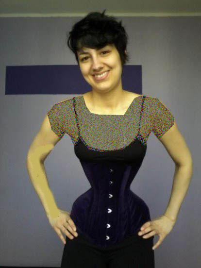 سایز کمر دختر آلمانی همه را شوکه کرد