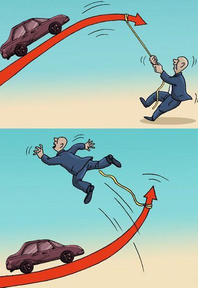 کاریکاتورگران شدن خودرو