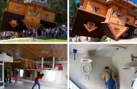 تصاویر عجیب ترین و دیدنی ترین خانه های دنیا