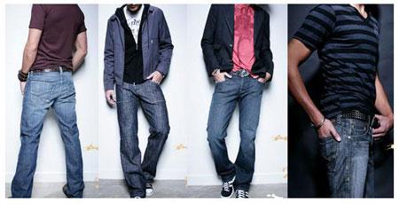 نحوه انتخاب مدل شلوار جین مردانه
