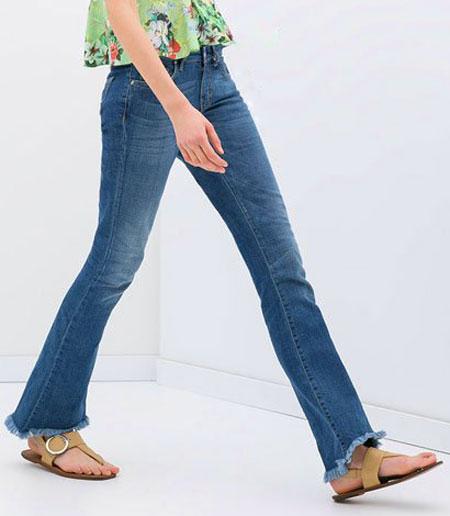 شلوار جین زنانه Zara, جدیدترین مدل شلوار لی زنانه