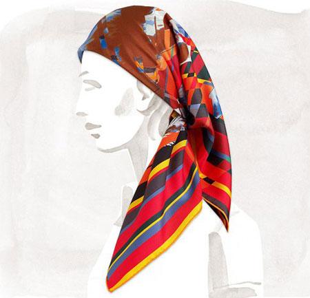 کلکسیون 2014 روسری هرمس, مدل روسری هرمس