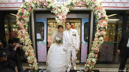 اخبار,اخبار گوناگون,عجیب ترین عروسیها در دنیا