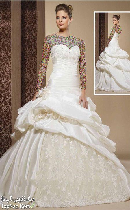 مدل لباس عروس ایرانی ۲۰۱۵