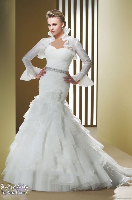 ,عکس مدل لباس عروس پرنسسی