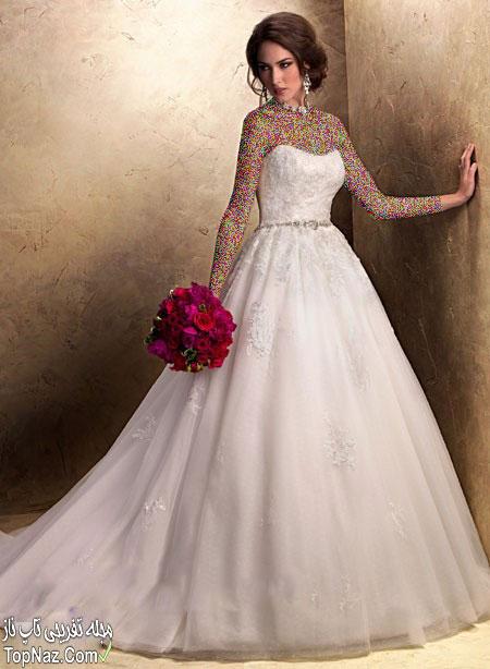 مدل لباس عروس اروپایی ۲۰۱۵