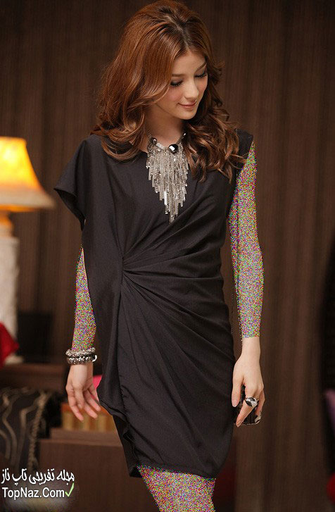 مدل لباس مجلسی کوتاه کره ای ۲۰۱۵