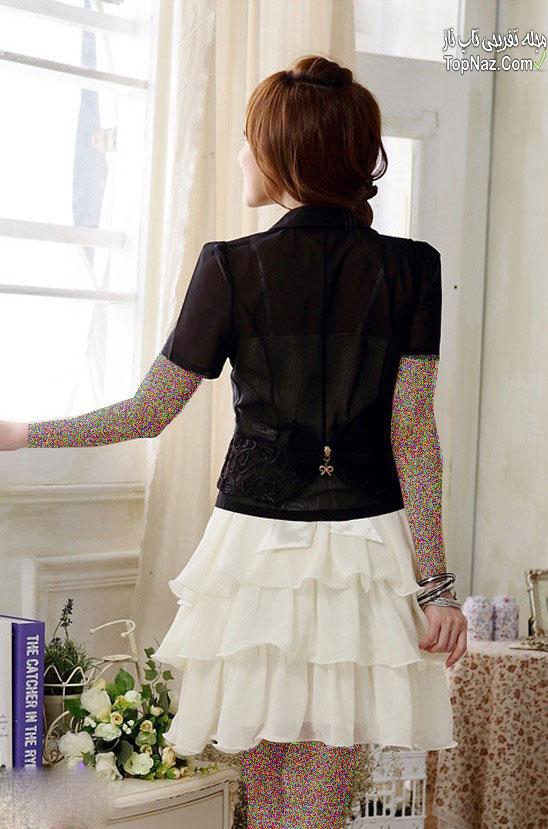 مدل لباس مجلسی کوتاه کره ای ۲۰۱۵ کره ای (5)