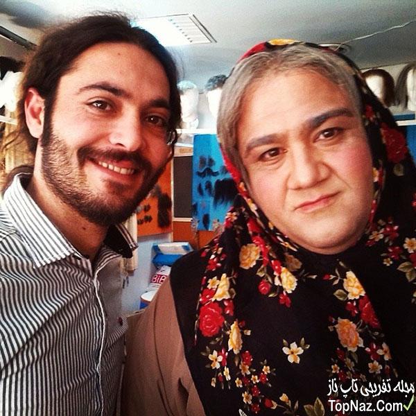 مهران غفوریان با چهره زنانه