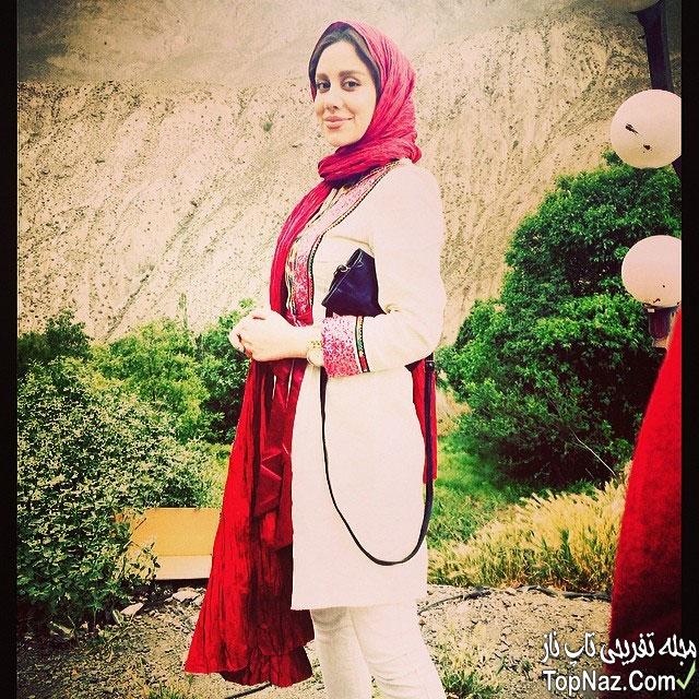 عکس های نوش آفرین رحمانی بازیگر نقش بهار در سریال انقلاب زیبا