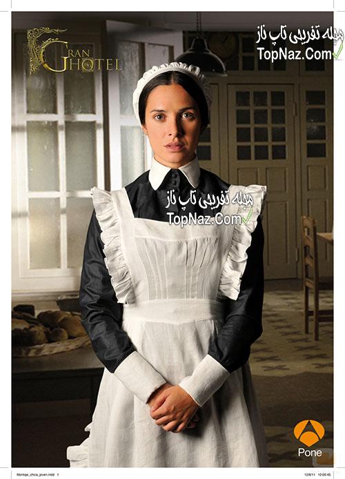 عکس های کریستینا در سریال گرند هتل