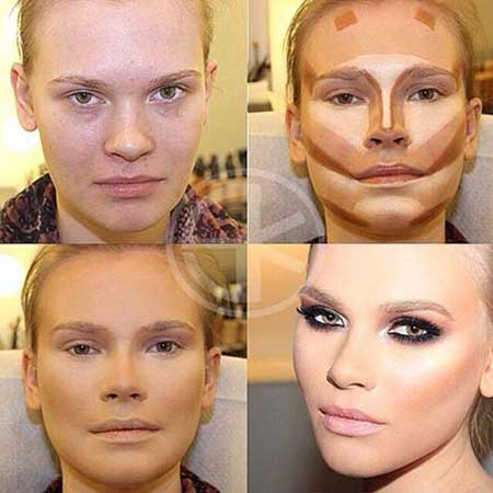 آموزش تصوری گریم چهره