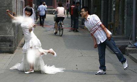 اخبار,اخبار گوناگون ,احمقانه ترین پیوندهای زناشویی دنیا