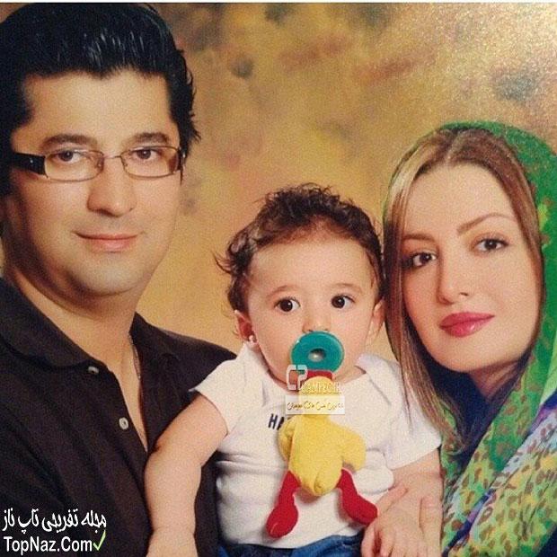 شیلا خداداد و همسر و فرزندش