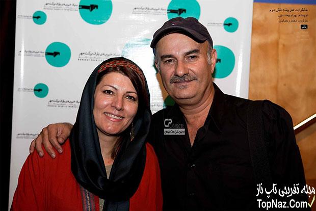 علی عمرانی و همسرش