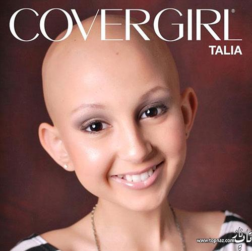 این دختر به دلیل آرایش خاصش مشهور شد