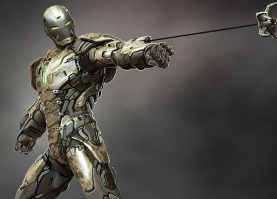 لباس مرد آهنی واقعا تولید می شود