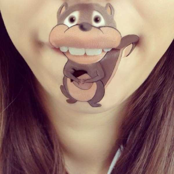 Laura Jenkinson lip makeup art 10 The Most Creative Lip Art Youve Ever Seen (28 photos)