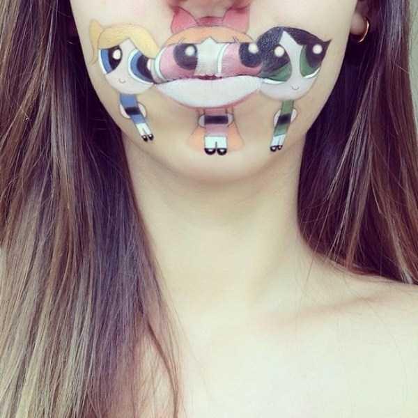 Laura Jenkinson lip makeup art 11 The Most Creative Lip Art Youve Ever Seen (28 photos)