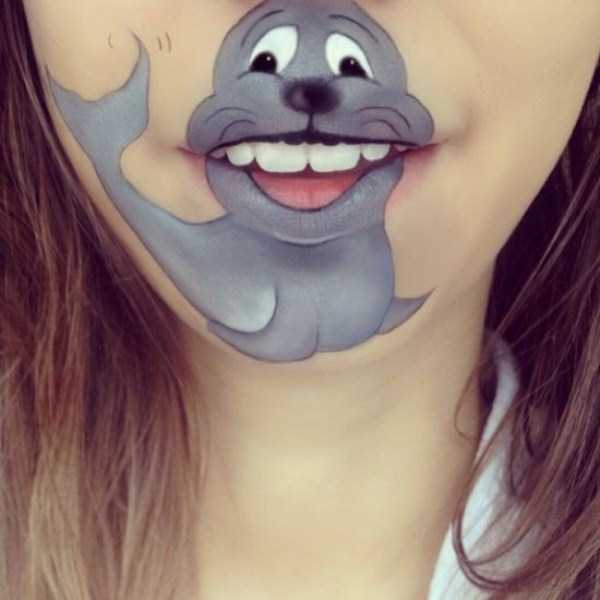 Laura Jenkinson lip makeup art 14 The Most Creative Lip Art Youve Ever Seen (28 photos)