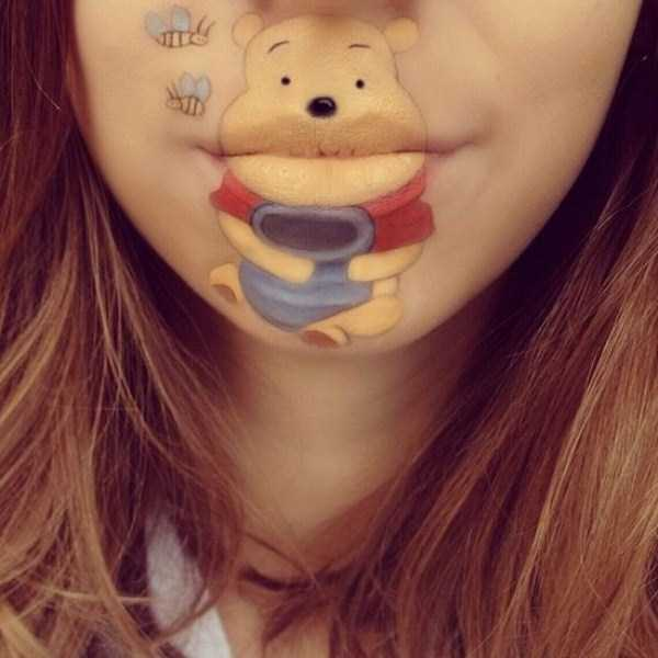 Laura Jenkinson lip makeup art 16 The Most Creative Lip Art Youve Ever Seen (28 photos)