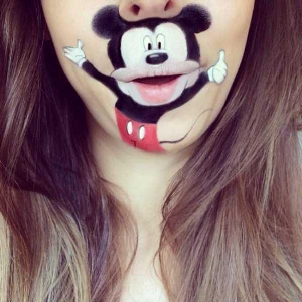 Laura Jenkinson lip makeup art 18 The Most Creative Lip Art Youve Ever Seen (28 photos)