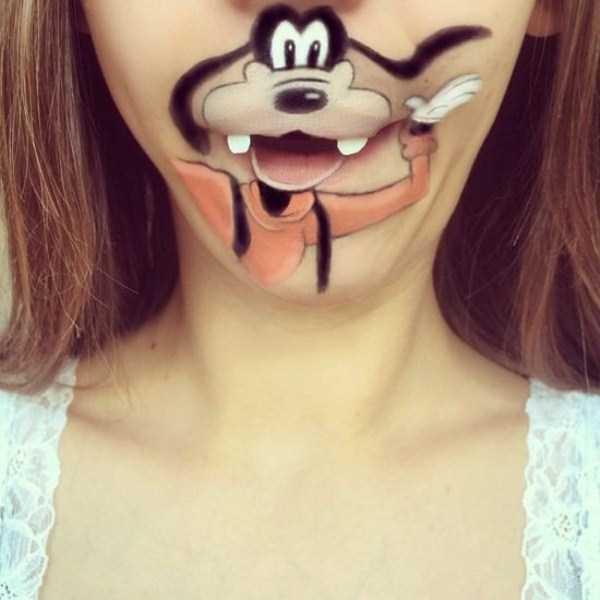 Laura Jenkinson lip makeup art 20 The Most Creative Lip Art Youve Ever Seen (28 photos)