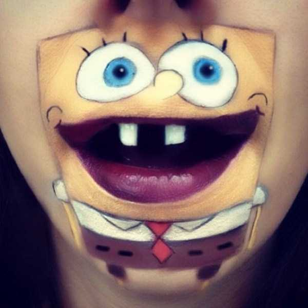 Laura Jenkinson lip makeup art 24 The Most Creative Lip Art Youve Ever Seen (28 photos)