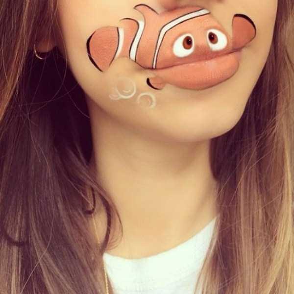 Laura Jenkinson lip makeup art 25 The Most Creative Lip Art Youve Ever Seen (28 photos)