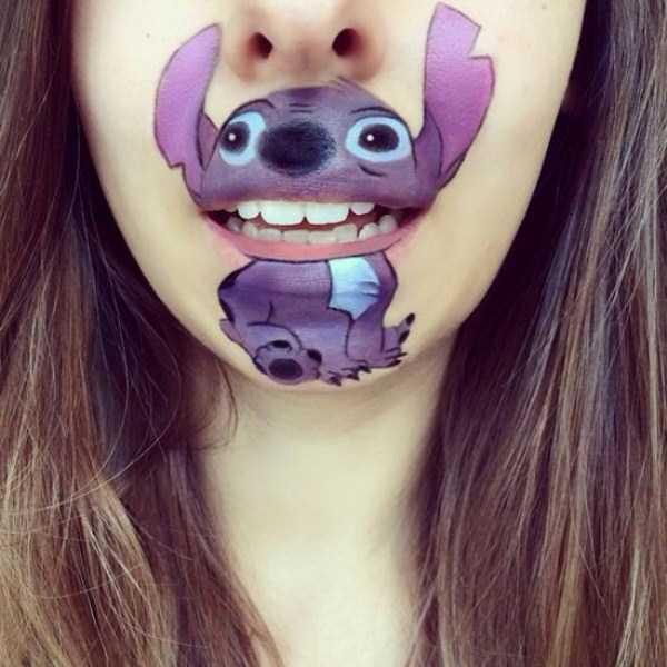 Laura Jenkinson lip makeup art 27 The Most Creative Lip Art Youve Ever Seen (28 photos)