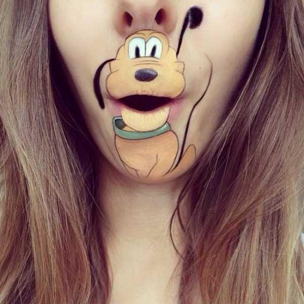 Laura Jenkinson lip makeup art 28 The Most Creative Lip Art Youve Ever Seen (28 photos)