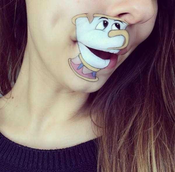 Laura Jenkinson lip makeup art 5 The Most Creative Lip Art Youve Ever Seen (28 photos)