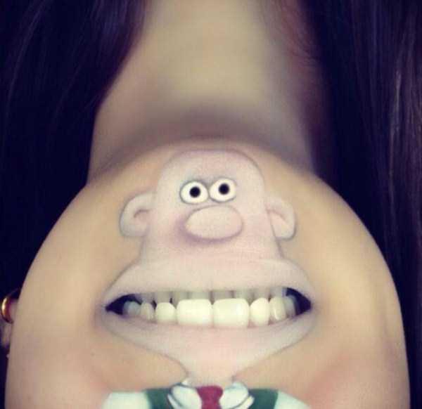 Laura Jenkinson lip makeup art 6 The Most Creative Lip Art Youve Ever Seen (28 photos)