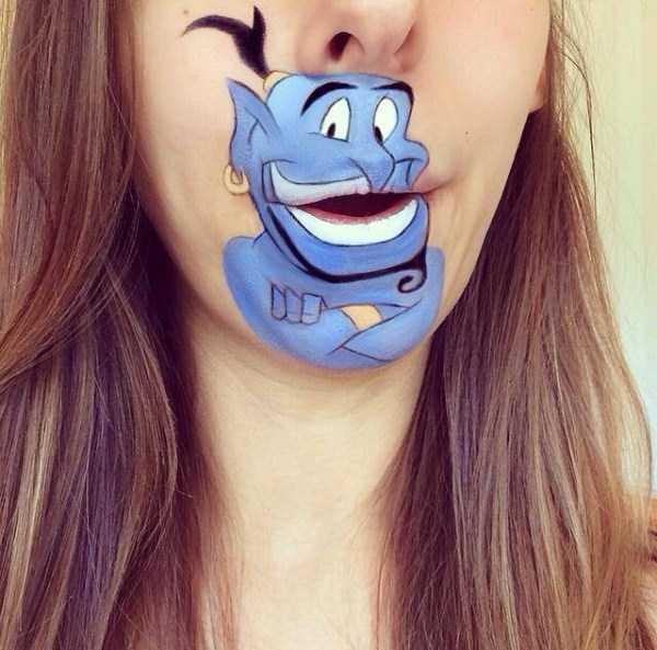 Laura Jenkinson lip makeup art 7 The Most Creative Lip Art Youve Ever Seen (28 photos)