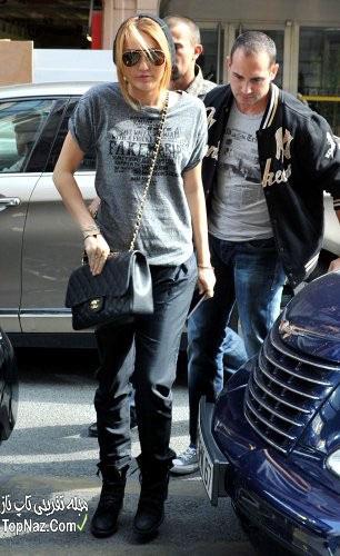مایلی سایرس, عکس مایلی سایرس با موی بلند