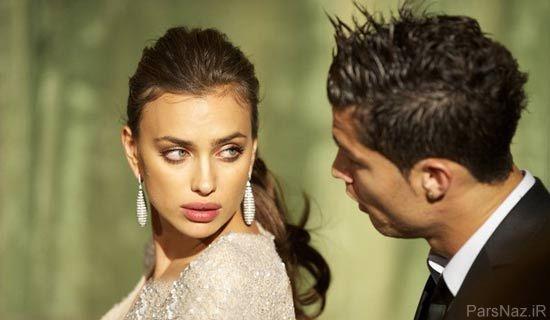 ازدواج کریس رونالدو با مانکن زیبای روس