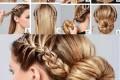 آموزش یک مدل موی ساده مجلسی