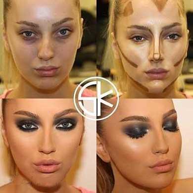 زیرسازی پوست برای آرایش