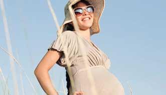 مشکل تغییرات و ترک پوست در دوران بارداری