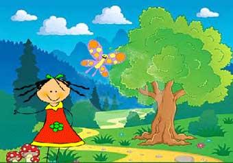 قصه کودکانه دختر آوازخوان