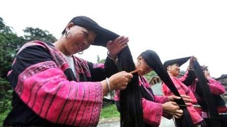 زنان مو بلند