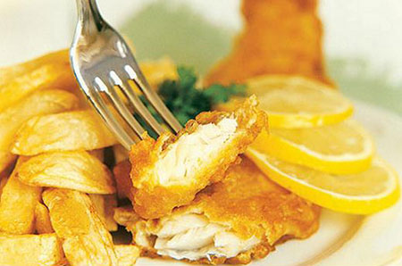 طرز تهیه Fish And Chips فیش اند چیپس
