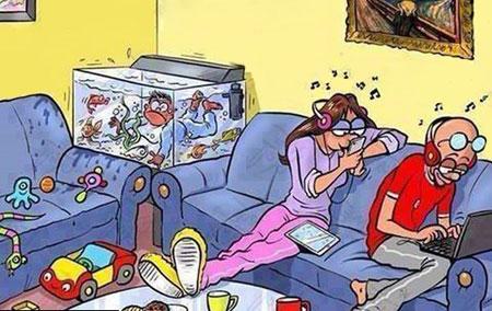 کاریکاتور و تصاویر طنز, عکس نوشته های جالب و خنده دار
