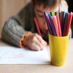 داستان خواندنی نمره نقاشی پسر بچه